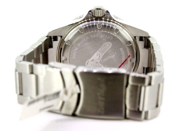 Zeitflügel Luxusuhr/ Caribic Diver - Exklusiv bei Juwelier Master mit blauer Lünette & weißen Ziffernblatt