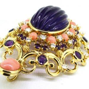 JuwelierMaster-Schmuck: Anhänger in 18 Karat Gold mit 3K-Brilliant 3