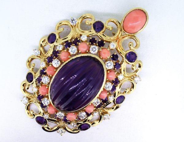 JuwelierMaster-Schmuck: Anhänger in 18 Karat Gold mit 3K-Brilliant 6