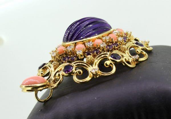 JuwelierMaster-Schmuck: Anhänger in 18 Karat Gold mit 3K-Brilliant 9